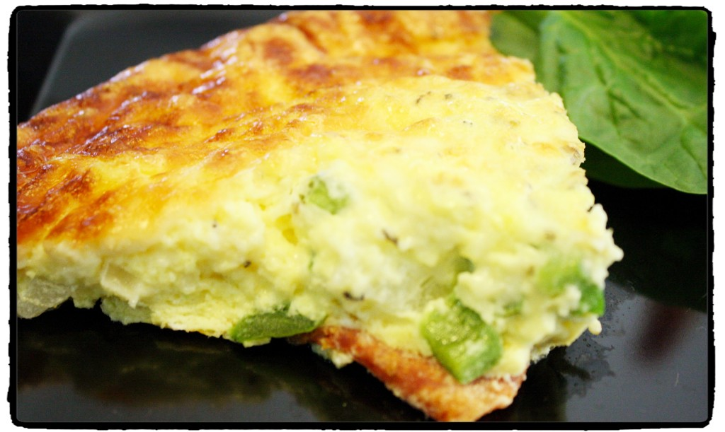 Low Carb Crustless Pizza Quiche | Detours in Life