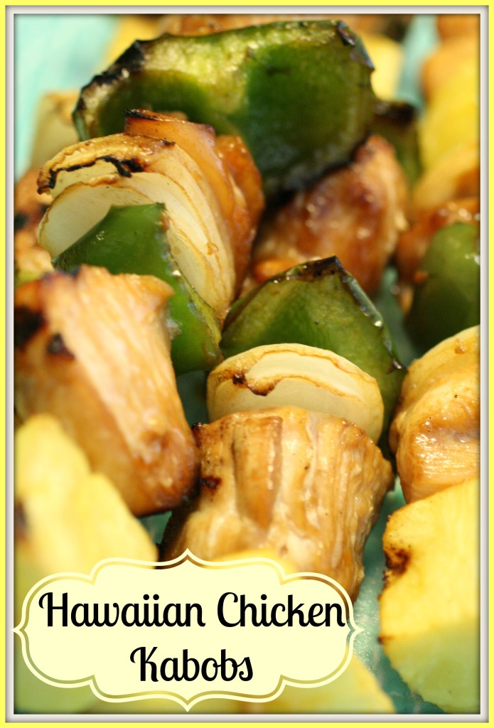 Hawaiian Chicken Kabobs - Natalie's Kitchen