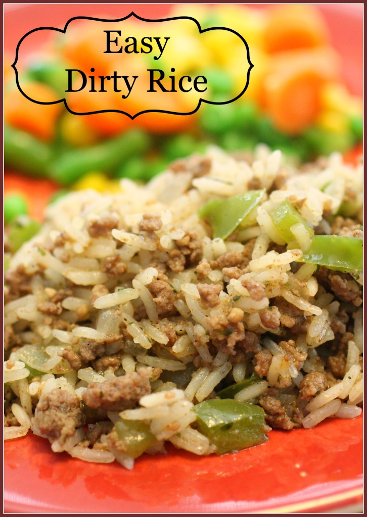 Easy Dirty Rice | Detours in Life