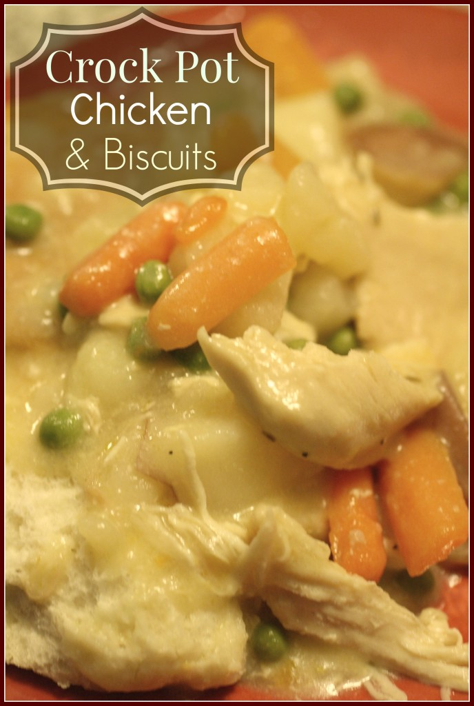 Crock Pot Chicken & Biscuits | Detours in Life