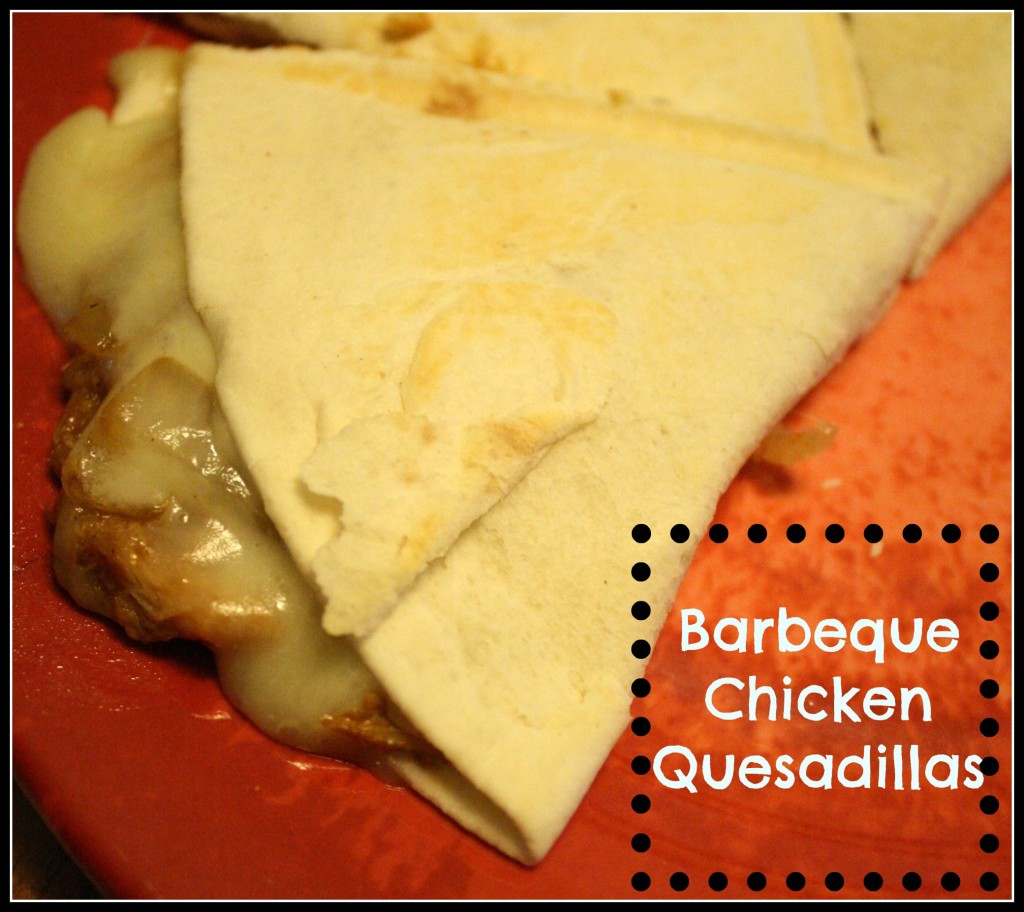 BBQ Chicken Quesadillas - Detours in Life