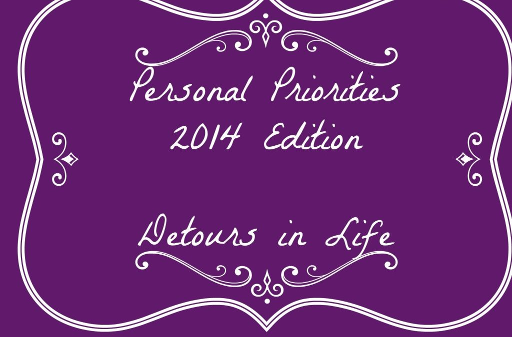 Personal Priorities 2014 – Update