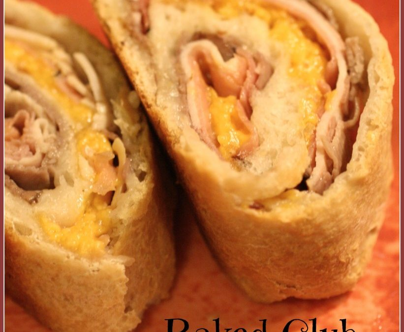 Baked Club Sandwiches