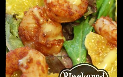Blackened Barbecue Shrimp Salad