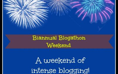 Blogathon Weekend!