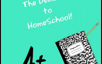 THE DECISION TO HOMESCHOOL!