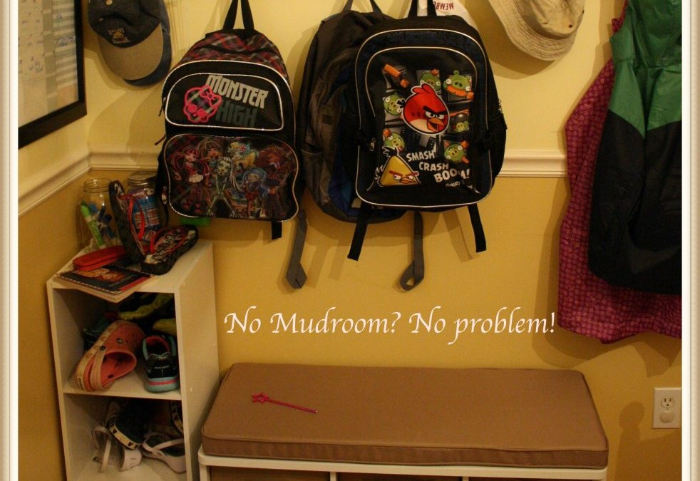 No Mudroom? No Problem!