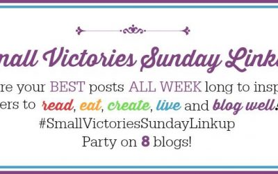 Small Victories Sunday Linkup {4}