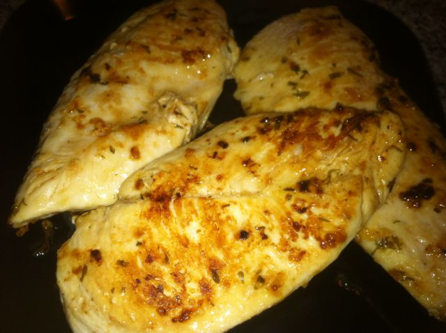 Quick Garlic and Herb Chicken