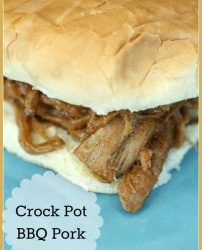 12 SUPER EASY CROCK POT MEALS