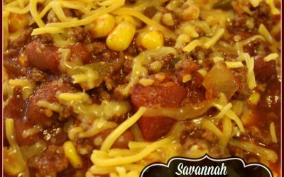 SAVANNAH TAILGATE CHILI